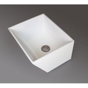 Laundry Basin 600x500mm White