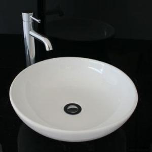 Deco Countertop Basin 420mm Dia White