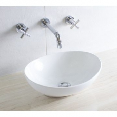 Mini Scoop Countertop Basin 410x330mm White