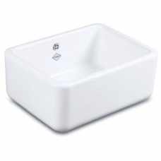 Butler 600 Sink 595x460x255mm White - Shaws