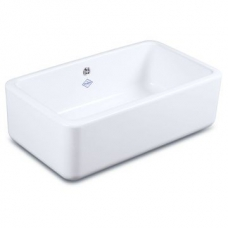 Classic 800 Butler Sink 795x460mm White - Shaws