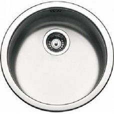 Drop-In Sink Round 435x435x200mm Brushed Stainless Steel