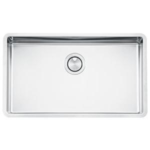 Mira Ultra-Low Single Bowl Undermount Sink 710x400x200mm Stainless Steel