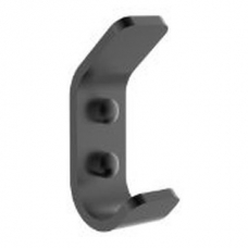 Onyx Towel Hook Black