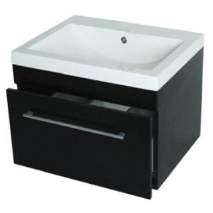 Cabinet & Basin Combo  600x475x465mm Mahogany
