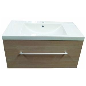 Composite Basin & Cabinet Wall-Hung 900x475x465mm Oak