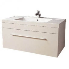 Composite Basin & Cabinet Wall-Hung 900x475x465mm White