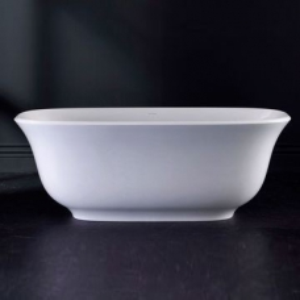 Amiata Freestanding Dbl-Ended Bath no Overflow 1645x800x611mm White