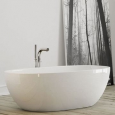 Barcelona Freestanding Double-Ended Bath no Overflow 1785x875x554mm White