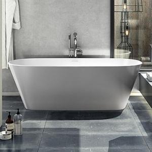 Vetralla 2 Freestanding Bath no Overflow 1650x727x550mm White