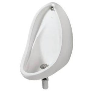 Lavatera BI Wall-Hung Urinal w/38mmChrome Grating & Spreader & Brackets White