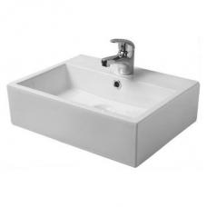 Midi Weaver Countertop Basin 1TH White