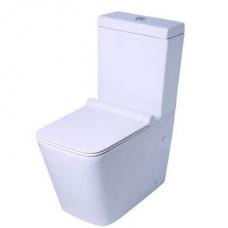 Refine Close-Coupled Toilet White