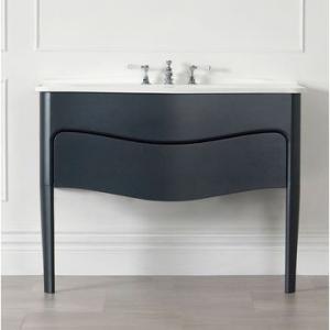 Mandello 114 Vanity w/Basin Top Anthracite Grey