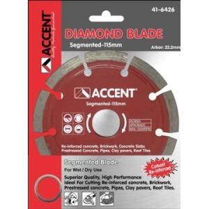 Accent Disc Diamond Segmented 115mm